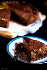 Tarte aux Poires et à la Crème de Chocolat Ⱦ