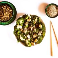 Kale, tofu, brocoli & épeautre