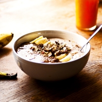 Porridge de la demi-Lune au chocolat