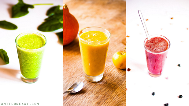 Mes smoothies Hiver-Printemps