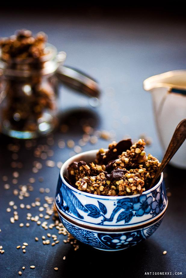 Granola Sésame Chocolat - Antigone XXI