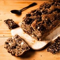 Banana Bread aux barres chocolatées