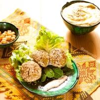 Falafels & hummus maison