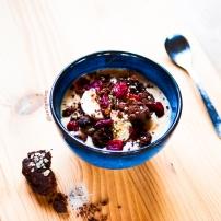 Crème ultra-protéinée chocolat & cacahuète ♥