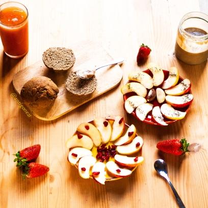 Petit-déjeuner ensoleillé ! ♥