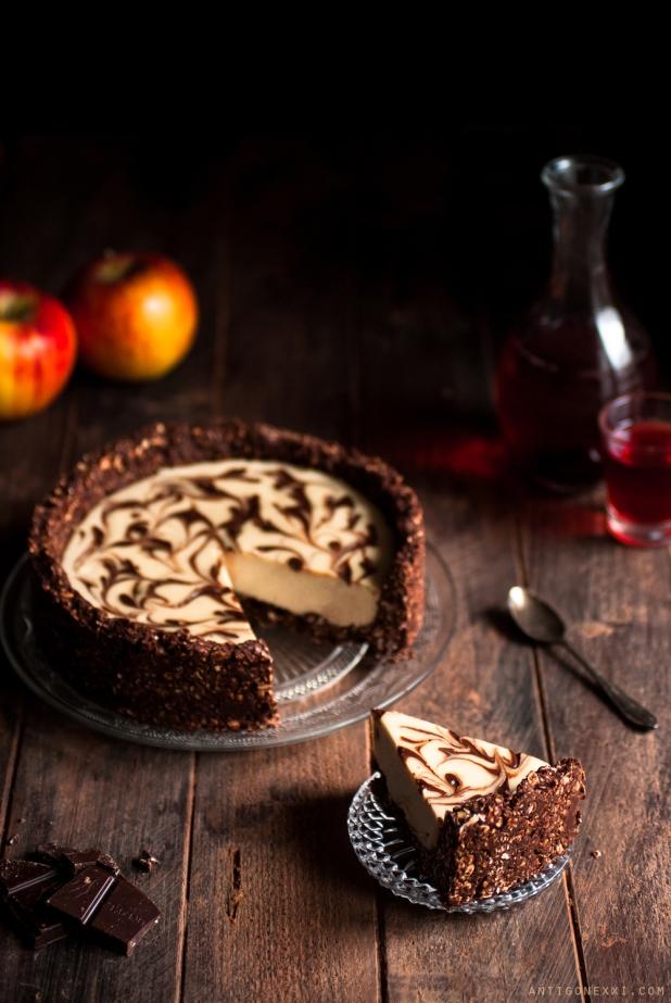 cheesecake v gane vanille chocolat sans gluten. Black Bedroom Furniture Sets. Home Design Ideas