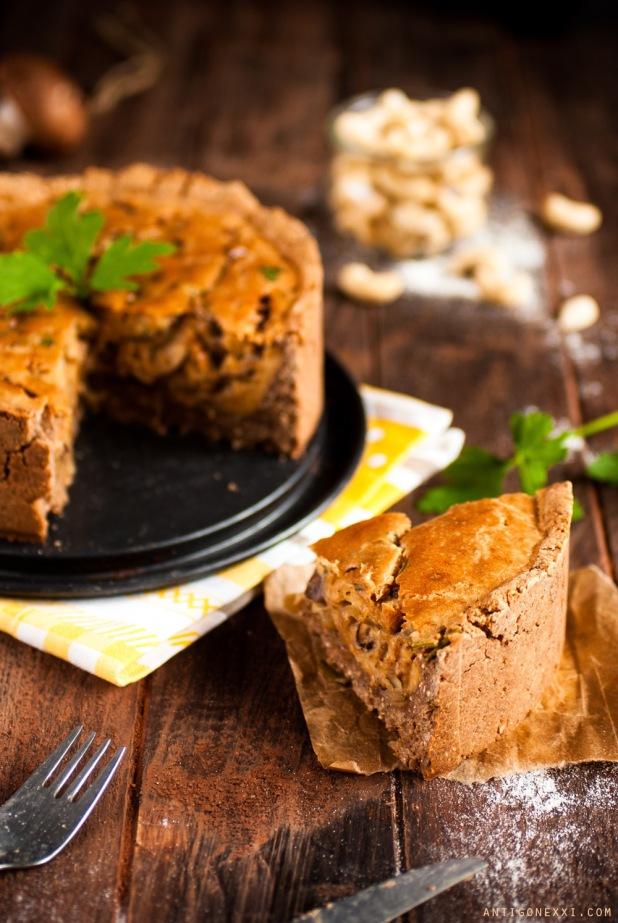 Une délicieuse quiche au fromage #vegan et #sansgluten ! Idéale pour les piques-niques !| antigonexxi.com